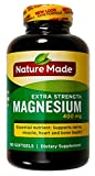 Nature Made Extra-Strength Magnesium 400mg, 180 Dietary Softgels