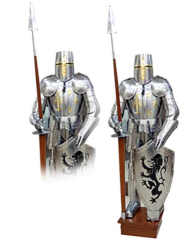 THORINSTRUMENTS (with device) Medieval Wearable Knight Full Suit 15TH Century Combat Body Armour Suit