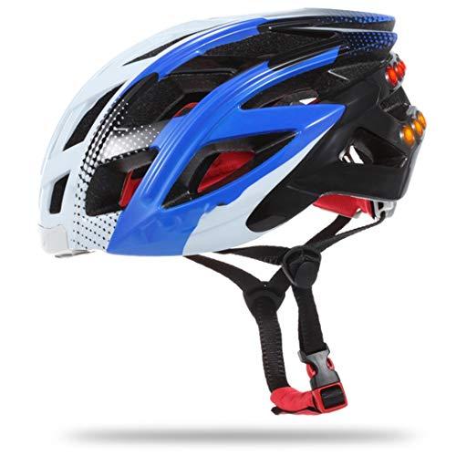 Smart Bike Cycling Helmet Bluetooth Lights Music Take Photo Alert Sharing Casco...