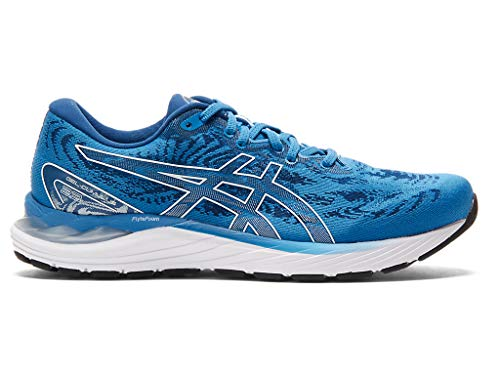 ASICS Men's Gel-Cumulus 23 Running Shoes, 9.5M, Reborn Blue/White