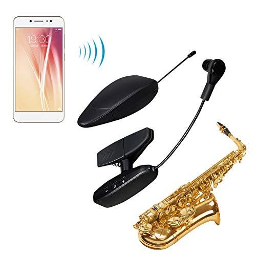 earlyad Sistema de micrófono de saxofón inalámbrico UHF