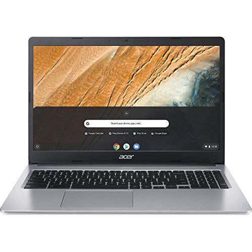 Acer Chromebook 315, Intel Celeron N4000, 15,6 Zoll HD Display, 4GB LPDDR4, 64GB eMMC, Gigabit WiFi, Google Chrome, CB315-3H-C4QE