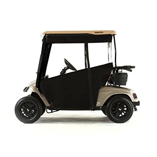 EZGO TXT 1994-2014 Golf Cart PRO-TOURING Sunbrella Track Enclosure - Black-BLK