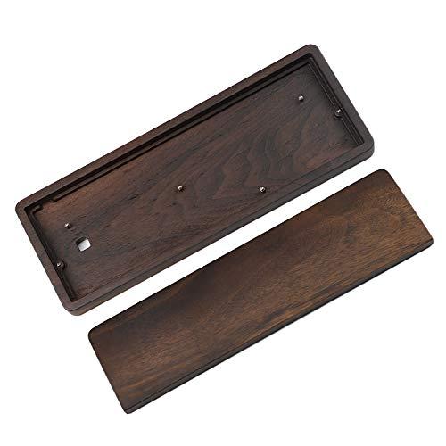 GH60 Handballenauflage aus massivem Holz, für 60 % mechanische Mini-Gaming-Tastatur, kompatibel mit Poker2 Pok3r Faceu 60 (Walnuss)