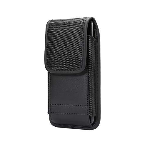 Aopan Oxford Funda Vertical Cinturón Bolsa Mosquetón para Xiaomi Mi A3 Honor 20 Pro Lite CUBOT X19 OUKITEL C13 C15 Pro Nokia 3.2 6.2 7.2 Ulefone Note 7 Armor X3 UMIDIGI A5 Pro