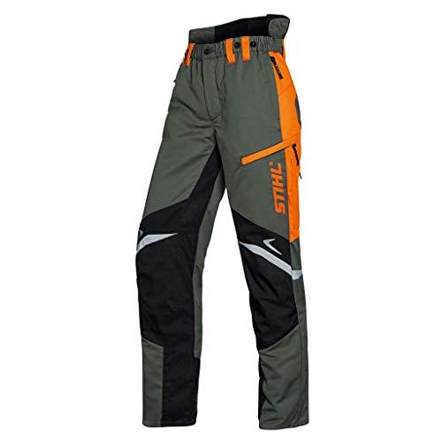 Stihl Bundhose mit Schnittschutz FUNCTION ERGO olivgrün/orange/schwarz 52