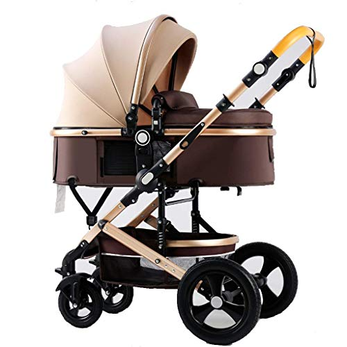 Why Choose Baby Stroller Umbrella Stroller with Safe Five-Point Harness and Brake Pushchair Infant P...
