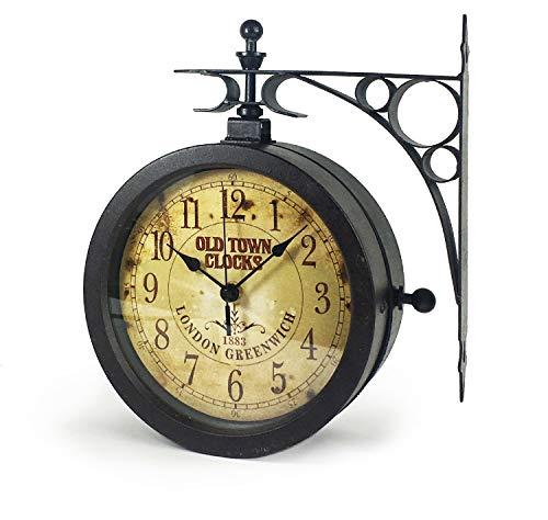 TFA 60.3011 Nostalgie - Reloj de Pared y termómetro, diseñ