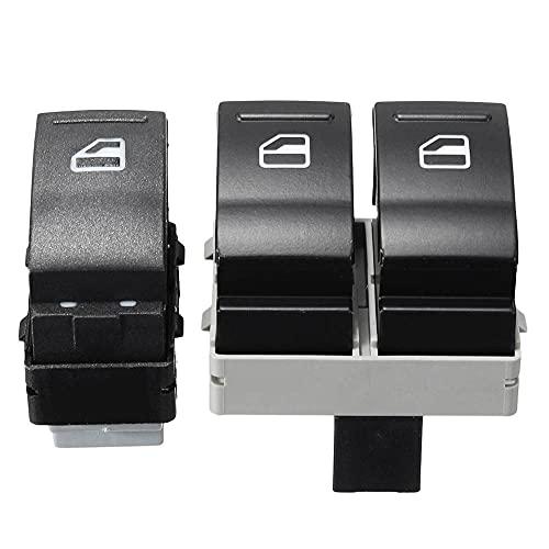 2 unids/set interruptor de Control de ventana eléctrico de coche apto para VW Transporter T5 T6 7E0959855A 7E0959855