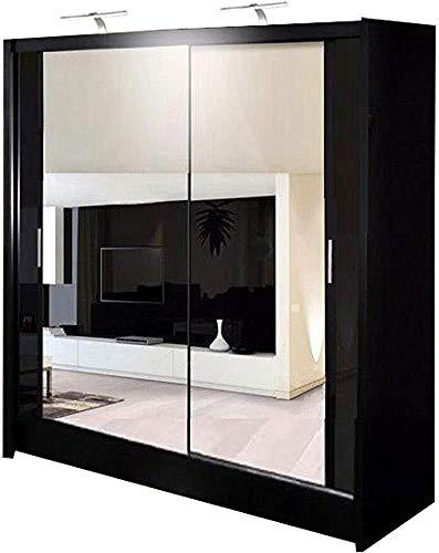 90 centimetri / 120 CM / 150 centimetri / 150 cm con LED / 180 CM / 203 centimetri/specchio armadio scorrevole 2 o 3,A- 150 cm
