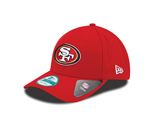 New Era Herren Kappe 9Forty San Francisco 49ers, Rot, OSFA, 10517869