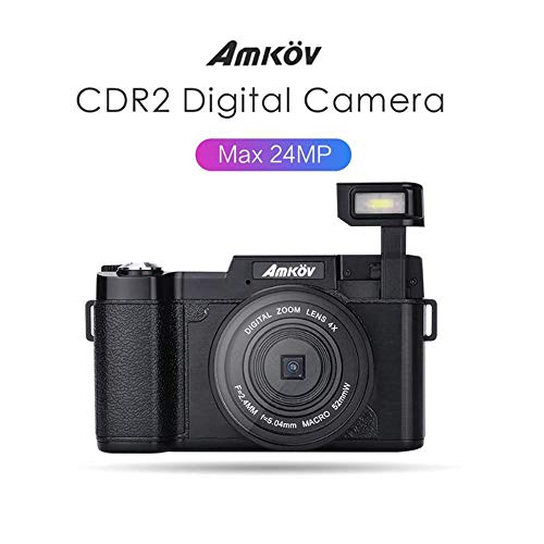 Read About Digital Camera, 2400W Pixel 2.7 Inch TFT LCD HD Digital Camera, 4X Digital Zoom Rechargea...