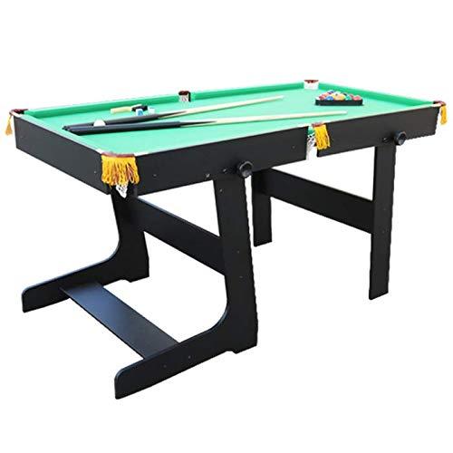 Walker & Simpson Premier 5ft Folding Pool Table Green