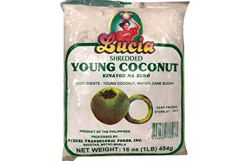 Shredded Young Coconut - 16oz (Pack of 6)