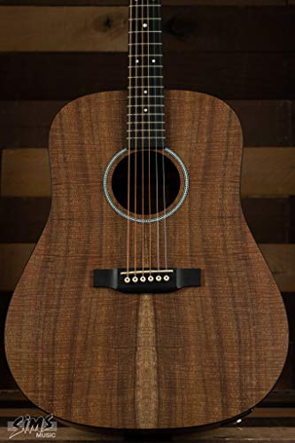 Martin D-X1E Koa Acoustic-Electric Guitar - Natural Koa
