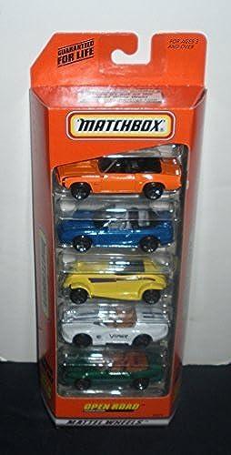 oferta especial Matchbox Matchbox Matchbox 1998 Open Road 5 Pack Gift Set by Mattel  barato y de alta calidad