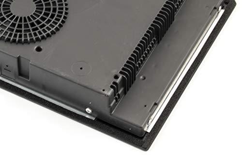 NJ IH-30 Encimera de inducción doble Empotrable Cerámica eléctrica Cocina Sensor Temporizador de control 3500W