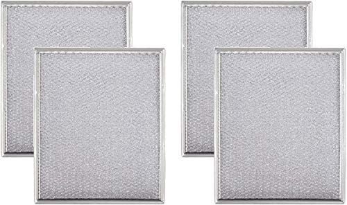 AF Aluminum Hood Vent Filter 97006931 Replacement for Broan-NuTone BP29 NY NV Series Range Hood, 8-3/4 x 10-1/2-Inch. 4 Pack