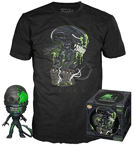 Funko Alien POP! & Tee Box 40th Xenomorph heo Exclusive Size L shirts