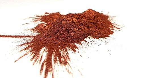 99,9% Kupferpulver, 9µm, plättchenförmig, Metallic Pigment, Metallpulve - stabilisiert, sehr fein, ab 100g (250g)