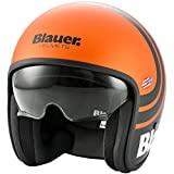 Blauer Pilot 2.0 - Casco de moto, color naranja