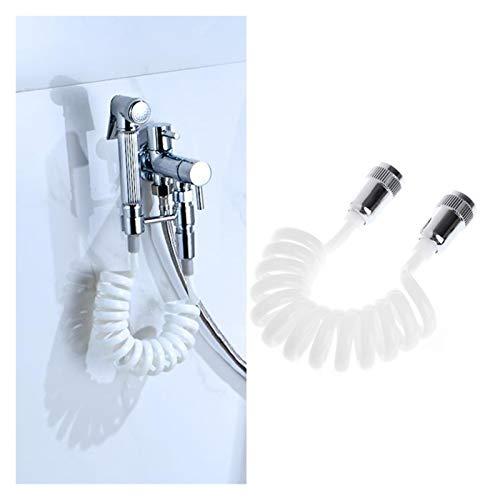 Mangueras De Ducha Manguera flexible for el agua de la ducha Fontanería Bidé pulverizador de línea telefónica Fontanería Manguera Mangueras (Color : 150cm)