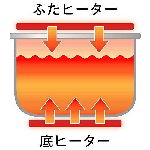 【Amazon限定ブランド】アイリスオーヤマ 炊飯器 マイコン式 5.5合 極厚銅釜 銘柄炊き分け機能付き ブラック Smart Basic