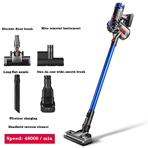 Fantastic Deal! JJSFT Handheld Lightweight Stick Vacuum,2 in 1 Cordless Vacuum Cleaner Strong Mite R...