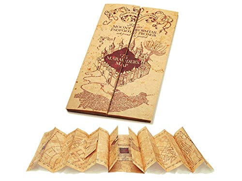 Harry Potter - 1/1 Replik - Die Karte des Rumtreibers - Marauders map