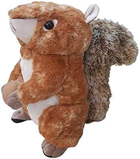 Teddy squirrel Plush Squirrel Stuffed Animal Doll Toy Squirrel Figures Plush Woodland Animals Interactive Toys for Kids Ch...