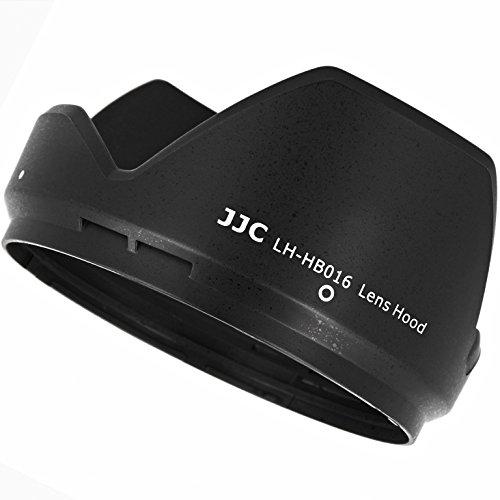 Impulsfoto JJC Gegenlichtblende Sonnenblende Streulichtblende ersetzt Tamron HB016 aus ABS in Schwarz kompatibel mit Tamron 16-300mm f/3.5-6.3 Di II VC PZD Macro - LH-HB016