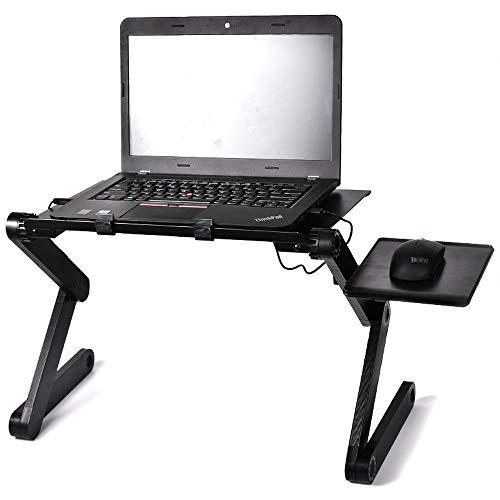 JONJUMP Mesa para ordenador portátil, portátil, portátil, plegable, sofá, cama, oficina, portátil, mesa
