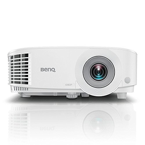BenQ MW550 WXGA Business Projector | DLP | HD 1280x800 | 3600 Lumen Brightness | Upto 15,000 Lamp Life | Dual HDMI | VGA | in-Built Speaker | Keystone Correction | Simple Setup | SmartEco Technology