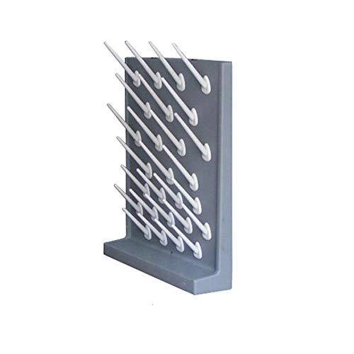 YUYUUU Labor-Einzeltropfgestell-Stangen Laborglas-Abtropfbrett-Glasinstrument-Abtropfgestell, 1