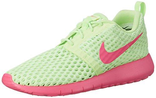 Nike Roshe One Flight Weight (GS), Zapatillas de Deporte para Niñas, Verde (Verde (Ghost Green/Pink Blast), 38.5 EU