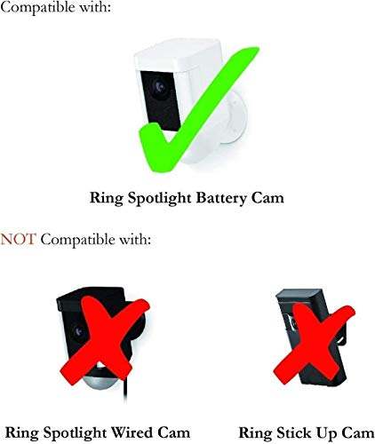 Colorful Silicone Skins for Ring Spotlight Battery Cam Security Camera - Protect and Camouflage your Ring Spotlight Battery Cam with these UV light- and weather resistant silicone skins by Wasserstein