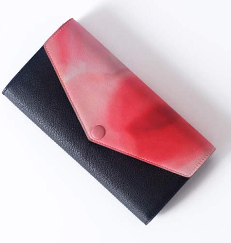 Damped UltraThin Zipper Storage Leather Wallet  Clutch