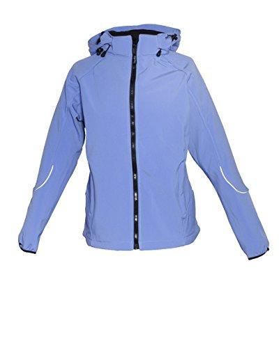 DEPROC-Active Damen Jacke Softshelljacke, Blau, 38