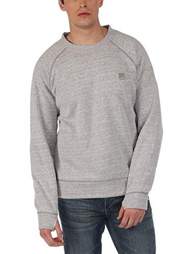 Bench Herren Sweatshirt Sweatshirt Hub grau (Smoked Pearl Marl) X-Large