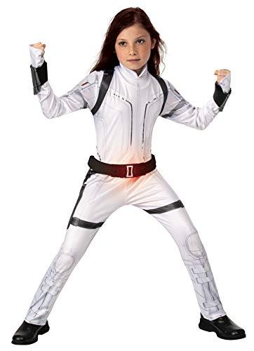 Rubies Costume Co. Inc Black Widow Child Deluxe White Suit Medium