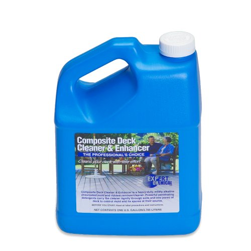 Expert Chemical Composite Deck Cleaner and Enhancer