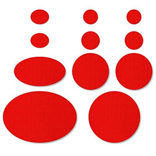 Kit de réparation de doudoune - Couleur: Rouge
