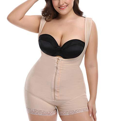 Body de cintura para mujer obesa, moldeador, corsé, moldead
