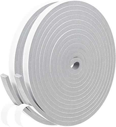 隙間テープ 2本 パッキンテープ 防風 防音テープ 窓 網戸 防音 防水 気密 断熱 雨戸 サッシ 適用 静音テープ 気密防水パッキン 2m (長さ) x30mm (幅)x10mm(厚さ)(30mm)