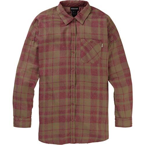 Burton Damen Hemd W Grace PERF FLNL, Größe:XS, Farben:Rose Brown Marcy PLD