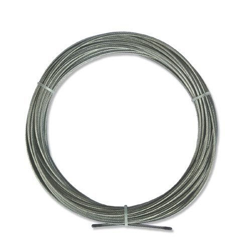 INTERDECO Spannseil/NIRO-Stahlseil in 10 Meter für Seilspanngarnituren
