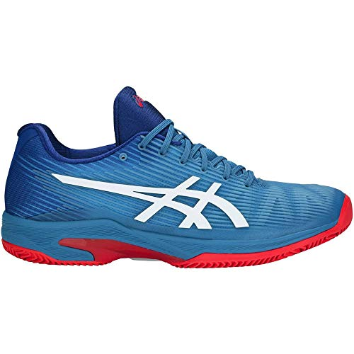 Asics Tennis Uomo Solution Speed FF Clay - Azzurro/Bianco - 1041A004-400 (EU 42.5 - UK 8)