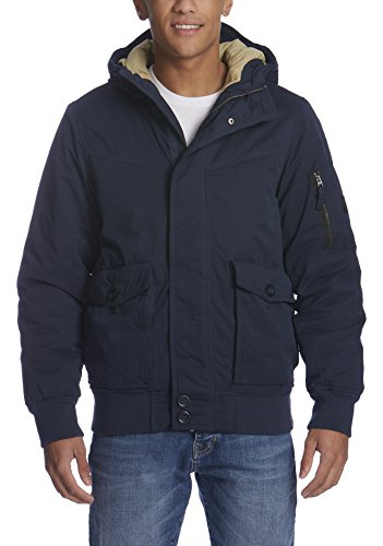 Bench Herren PALLOR Jacke, Blau (Dark Navy Blue NY031), Medium