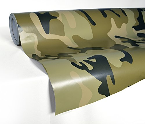 VViViD XPO Desert Camouflage Vinyl Car Boat Vehicle Wrap Vinyl Self Adhesive Stretch Conform Decal DIY (20ft x 5ft)