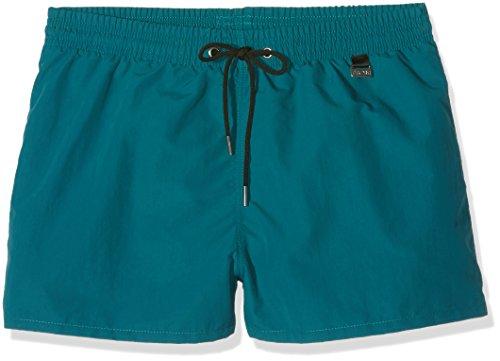 HOM Herren Badeshorts Marina Beach Shorts, Vert (Vert Olive), X-Large